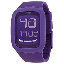 Swatch SURV100 Touch Purple Digital Chronograph Alarm Swiss Made Unisex Watch