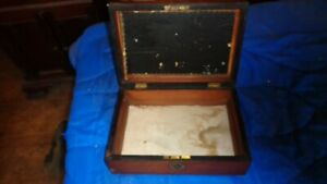 collectable antique wooden box