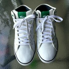 Lacoste Sport white Genuine leather lace up high top sneakers US size 10.5M