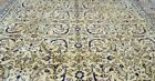 Stunning Muted Dyes Antique 1940-1950s  Wool Pile Premium Qlty Hereke Rug 5x7ft