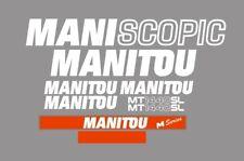 Sticker, aufkleber, decal - Manitou Maniscopic MT 1440 SL