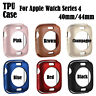 For Apple Watch iWatch Series 4 3 2 1 Soft TPU Protective Cover Case Skin Bumper