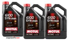 Aceite Motor Motul 6100 SYN-CLEAN 5W40 Acea C3 RN0710 dexos 2 DPF,  Pack 15 Lts