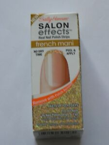 SALLY HANSEN SALON EFFECTS NAIL STRIPS: CHOOSE YOUR COLOR