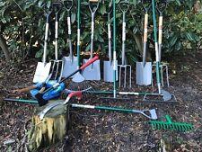 High Quality Garden Digging Spade Fork Border Edging Carbon Steel Tools