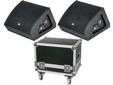 "DAP-Audio M12 BUNDLE, 2x aktiver Monitorlautsprecher 12"" inkl. CASE"