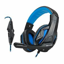 ENHANCE GX-H2 Casque Micro Gaming avec oreillette confortable & micro ajustable