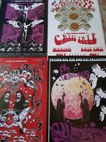 Gig poster lot, psychedelic poster lot,concert poster lot,Roky Erickson,posters