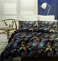 Jana Duvet | Doona Quilt Cover Set by Koo | Flowers | Peacocks | Birds | Animals