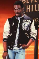 Beverly Hills Cop Axel Foley Eddie Murphy Detroit Lions Varsity Jacket