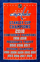 Washington Capitals NHL Stanley Cup Championship Flag 3x5 ft Sports Banner New