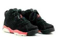 Nike Air Jordan PS Infant Kids Unisex UK 10.5 EU 28 Black Infared Used Trainers