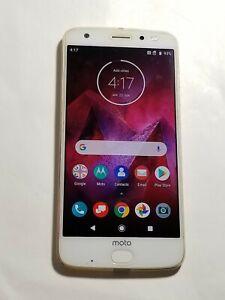 Moto Z2 XT1789-01 - 64GB -Gold-Verizon Unlocked-Rear Camera View Blurry -AP55