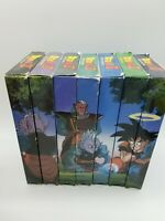 Dragon Ball Z Fusion Complete 7 VHS TAPE Anime Edited Version Film Movie Set