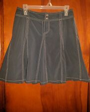 Athleta Women's Whatever Blue Skort With White Stitching Size 4 Small