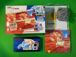 Nintendo New 3DS 20th Anniversary Pokemon Edition Black System Red Blue Version