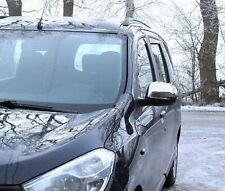 Carcasas Retrovisores Cromados para Dacia Dokker desde 2012 acero