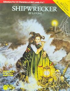 Shipwrecker (Advanced Dungeons and Dragons/Role Aids) Sue Stone AD&D New/Unused