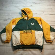 Vintage Starter Official Green Bay Packers Pullover Jacket Youth Size Large #H