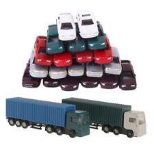 52 Stück Modell Container LKW Abbildung 1: 150 N Maßstab Gebäude