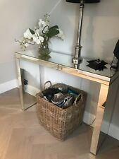 Modern Stylish Florence Mirrored Console Table Hallway Living Room Furniture