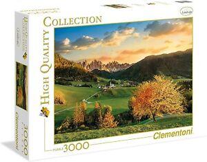 PUZZLE 3000 PEZZI The Alps High Clementoni 33545