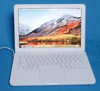 """Apple Macbook 13"""" A1342 Unibody 8GB RAM Mid 2010 2.4GHz 250GB  10.13 High Sierra"""