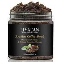 Kaffee Peeling Körperpeeling Creme Gesichts Totes Meer für Peeling Salz Whi T6G3