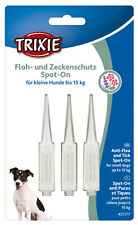 TRIXIE Spot On Floh- und Zeckenschutz für Hunde gegen Zecken Flöhe