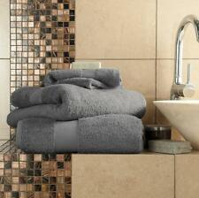 Miami Luxury Towels 700 GSM 100 Egyptian Cotton Extra Softness and Absorbency Hand Towel 50 X 80 Cms Charcoal