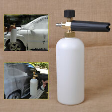 Adjustable Snow Foam Lance Car Washer Soap 1L Bottle Car Wash Gun 1/4