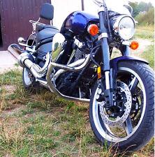 Yamaha XV1700 Warrior Stainless steel crash bar engine guard + pegs