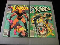 Uncanny X-Men #177 And #178 (1984 Marvel) MID GRADE Newsstand