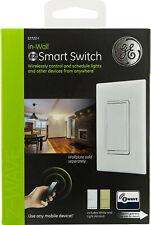 Ge 14287 Z-Wave Plus Wireless Smart Fan Control - White/Light Almond - New!