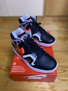"2020 Nike Air Tech Challenge 2 ""BLACK LAVA"" (CQ0936-001) Size 8.5 BRAND NEW"