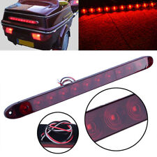 "Red 15"" Waterproof 11LED Light Bar Stop Turn Tail 3rd brake Light Truck ID Bar"