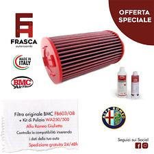 Filtro Aria Giulietta Sportivo BMC Originale FB603/08 + KIT Pulizia WA250-500