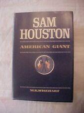 1962 BOOK SAM HOUSTON AMERICAN GIANT by M. K. Wisehart, Texas History