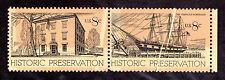 US # 1440-1441(1971) 8c - MNH EFO: Color Shift/Preprinting Paper Folds