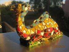 Exclusive collectiIble mosaic style large camel figurine israel souvenir decor