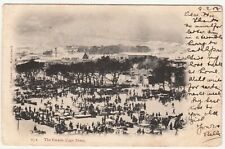 CGH: EDVII Postcard, The Parade, Cape Town, to London, 9 February 1905