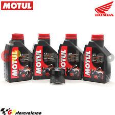 KIT OLIO + FILTRO ORIGINALE MOTUL 7100 10W40 4L HONDA 600 CB FA HORNET 2008