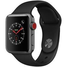Apple Watch Series 3 - 42mm - Gray Case - Black Sport Band (GPS + Cellular Data)