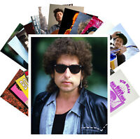 Postcards Pack [24 cards] Bob Dylan Rock Music Vintage Posters CC1251