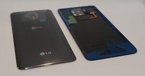 Genuine LG G7 ThinQ G710 Platinum Grey Battery Cover with Fingerprint Sensor