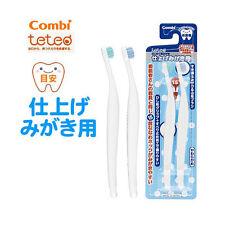 Japan Combi Training Toothbrush 4 Months Up With Parents 2 PCS Set R10