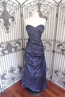 275b563e370 L225 BILL LEVKOFF 124 SZ 10 NAVY  220 BRIDESMAID COCKTAIL PARTY DRESS GOWN  NWT