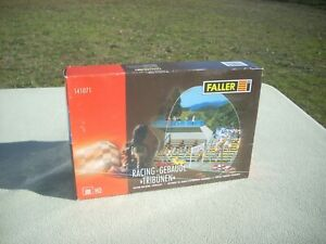 HO Faller RACING BUILDING / TERRACES / GRAND STANDS Model #141071 Sealed