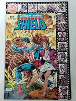LANCELOT STRONG: THE SHIELD #1, 2 & 3 (1983) RED CIRCLE COMICS FULL COMPLETE SET
