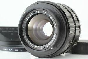 【N.MINT】 Leica Summicron-R 35mm F/2 3-cam Lens for Leica R from Japan #373